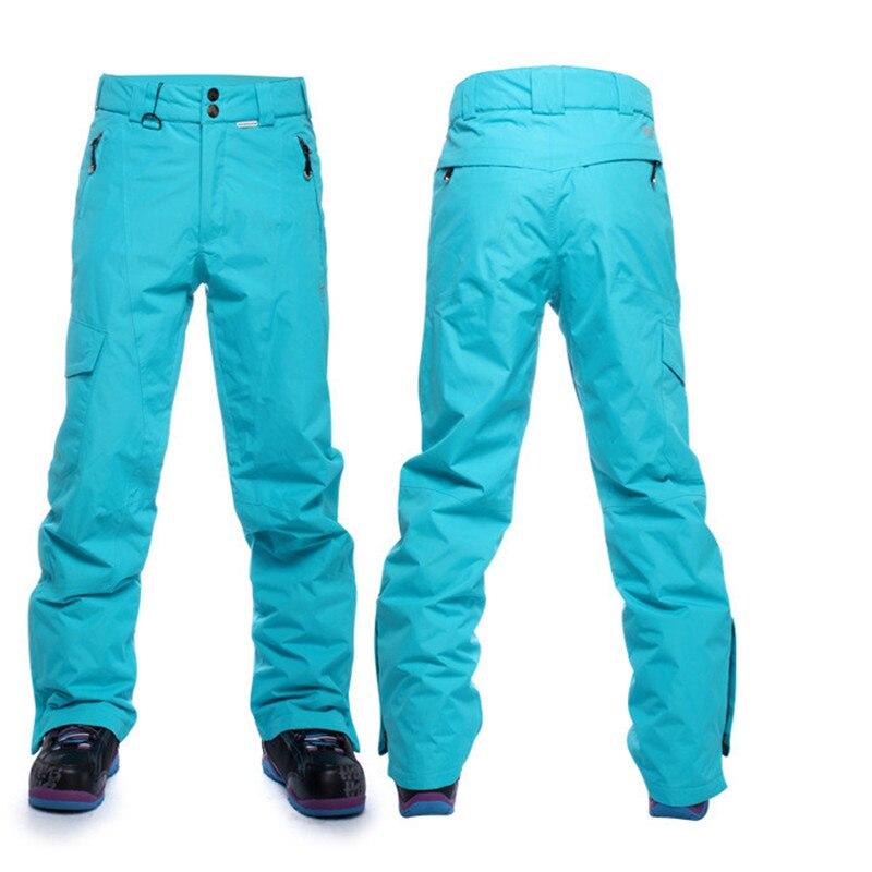 Hiver Ski Pantalon Hommes Étanche Thermique Snowboard Pantalons De Neige Mâle Épaissir Respirant Coupe-Vent En Plein Air Montagne Ski Pantalon