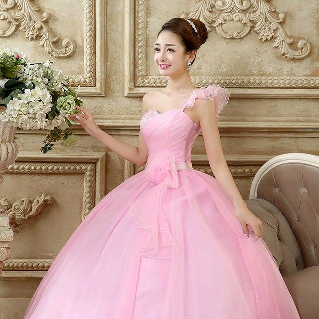 Tienda Online Quinceanera vestidos 2018 dulce flores crydtal lujo ...