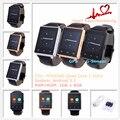 """№ 1 D6 Smart Watch MTK6580 Quad Core 1.3 ГГц 1 ГБ 8 ГБ 1.63 """"3 Г Smartwatch Телефон Android 5.1 GPS WiFi BT 4.0 Монитор Сердечного ритма"""