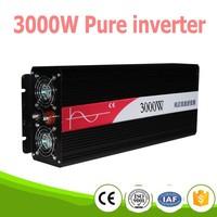 3000W pura sinus inverter Pure sine wave inverter 3000W 12V to 220V CE ROHS, PV Solar Inverter, Car Inverter Converter