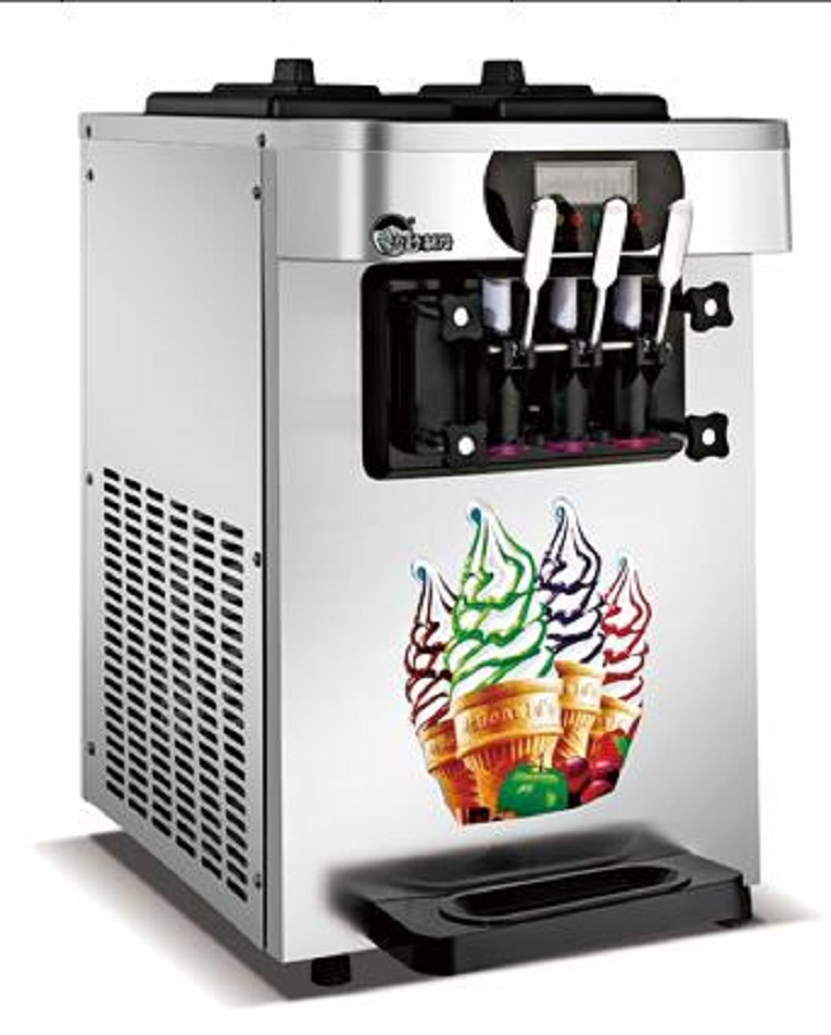 The Ce Certified Table Top Mini Soft Ice Cream Vending