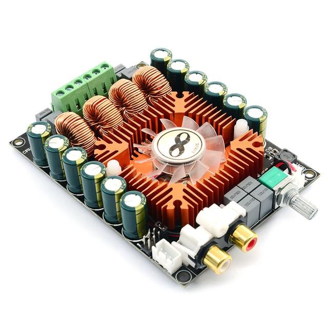 TDA7498E Stereo HIFI yüksek elektrikli ses yükseltici kurulu 2.0 çift kanal 2x160W Mono BTL220W