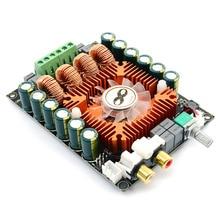 Tda7498e estéreo de alta fidelidade alta potência placa amplificador áudio 2.0 duplo canal 2x160w mono btl220w