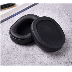 Image 2 - เปลี่ยนแกะหนังแผ่นรองหูฟังสำหรับ Audio technica ATH MSR7 ATH M50x สำหรับ SONY MDR 7506 MDR V6 9.17