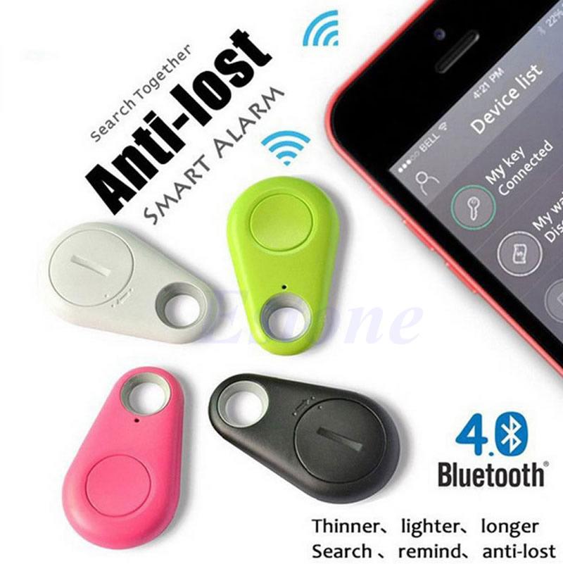 Smart Bluetooth Tracer Pet Child GPS Locator Tag Finder Alarm Wallet Key Tracker #1