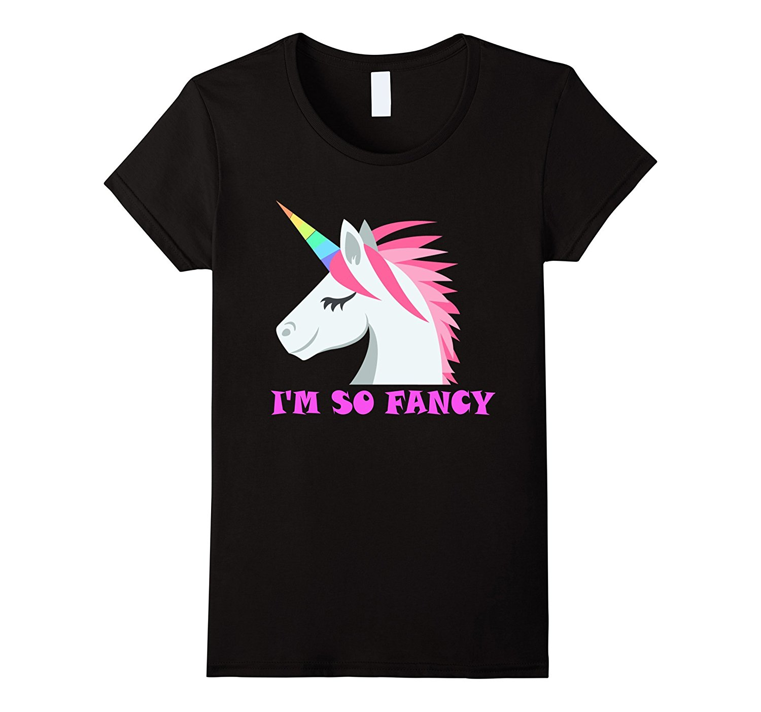 IM SO FANCY UNICORN T SHIRT UNICORN TEE SQUAD New Fashion WomenS Short Sleeve Girl T-Shirt Hot Sale 2017 Hot Summer ...