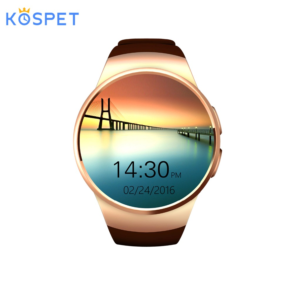KOSPET KW18 for samsung gear s2 Bluetooth Smart Watch Support Heart Rate Monitor Smartwatch for apple huawei Android IOS watchKOSPET KW18 for samsung gear s2 Bluetooth Smart Watch Support Heart Rate Monitor Smartwatch for apple huawei Android IOS watch