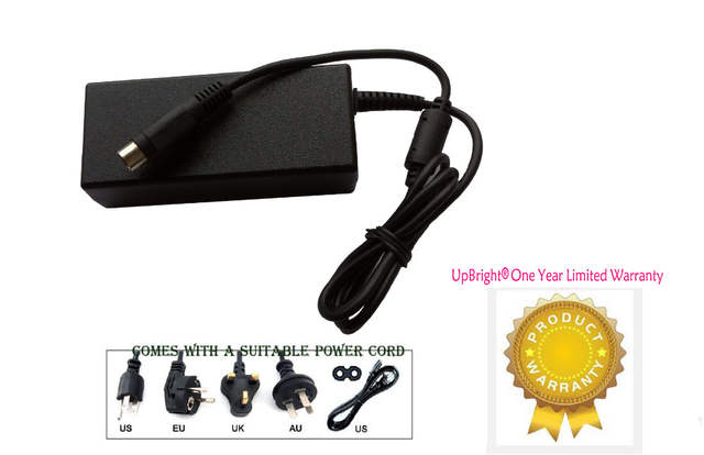 US $24 99 |UpBright New 3 Pin DIN AC Adapter For Epson TM T88iv TMT88iv  Printer M129H,TM U295 TM T80, TM S1000 TMS1000 M236A TMU375 TMU375P-in  AC/DC