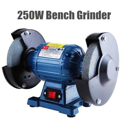 High Quality 150mm Bench Grinder 220v 250w Disc Grinder