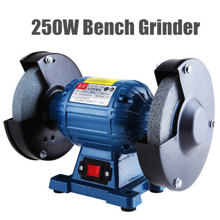 high Quality 150mm Bench Grinder 220v 250w Disc Grinder For Metal 150x20x32mm