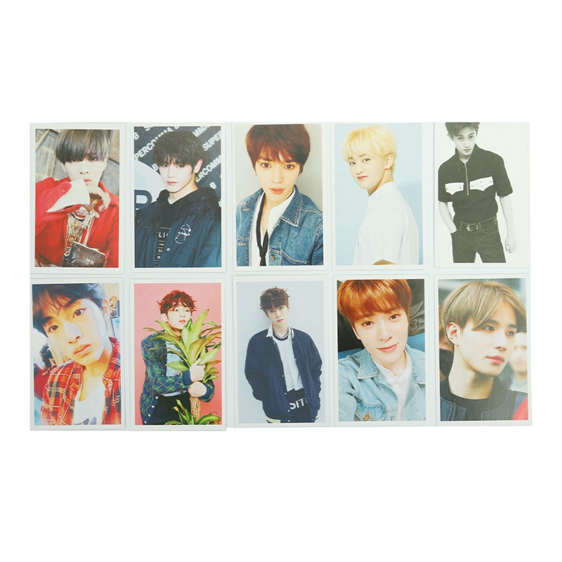 Stationery Set School & Educational Supplies 100% True 30pcs/set K-pop Nct U 127 Boss Touch Taeyong/mark/winwin/jaehyun/jungwoo Personal Lomo Paper Card Self Made Photocard Refreshing And Enriching The Saliva