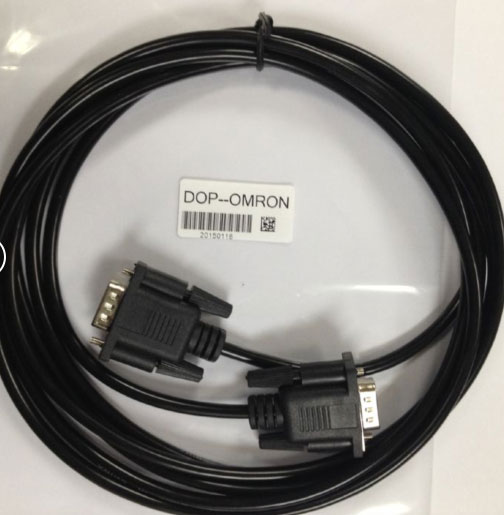 US $9 0  FreeShip Compatible DOP /CP1H/1E/CJ PLC Communication Cable for  Delta HMI and OMRON PLC-in Wires & Cables from Lights & Lighting on
