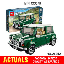 Free shipping LEPIN 21002 technic series MINI Cooper Model Building Kits Minifigures Blocks Bricks Toys Compatible With10242