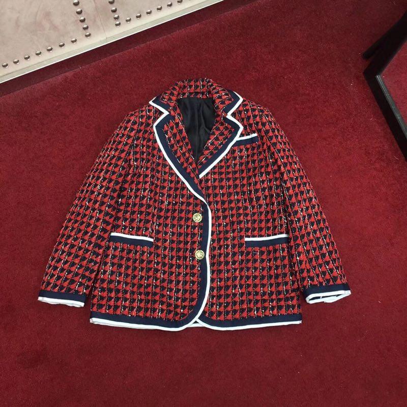 BH04565 модные Для женщин Пальто и куртки 2019 взлетно посадочной полосы роскошь известный бренд Европейский дизайн вечерние стиль Женская одеж