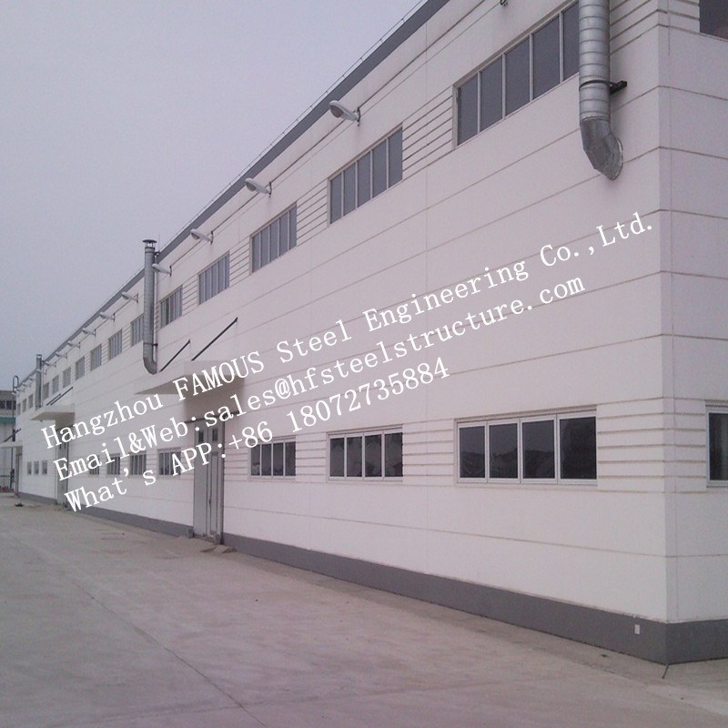 Soundproof Insulated Precast FASEC Prefab-I Panel For Steel Modular House Wall System