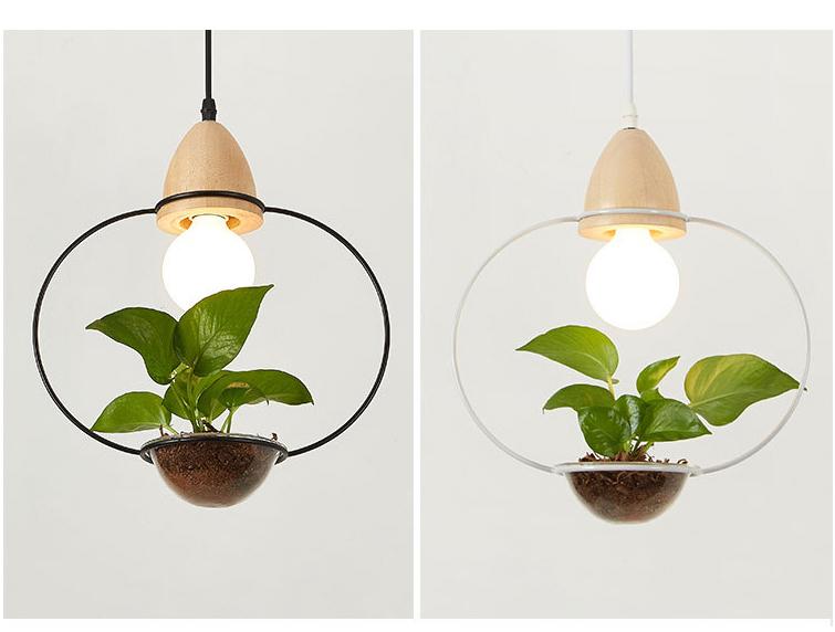 Art Deco Led Plant Pendant