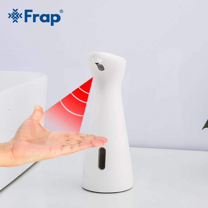 FRAP Smart Auto Liquid Soap Dispenser Infrared Sensor Hand Washing Machine Portable Liquid Soap Dispenser Bathroom Kitchen Tool