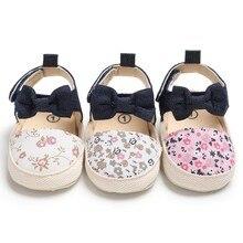 Популярная весенне-летняя обувь для маленьких девочек; маленькая свежая печать; сандалии принцессы; модная удобная детская обувь для девочек