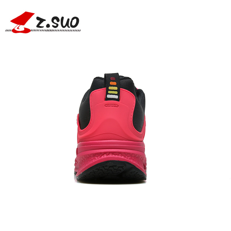 Sneakers donna up Zsuo Outdoor Marca rosso da Lace confortevole per Md Morbido Outdoor Shoes Ultralight Flats viola Casual Unico rosa tZXZx4