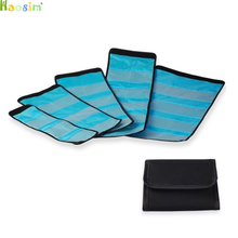 3 4 6 slots Case Holder Case Pouch Wallet for 25mm to 82mm Camera Filter UV CPL New