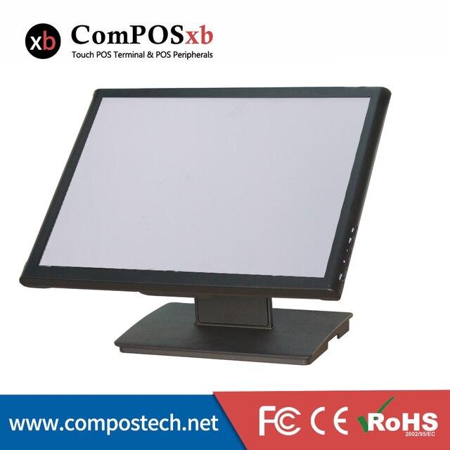 Livraison gratuite moniteur d'ordinateur de bureau taille 19 pouces écran moniteur écran tactile 5 fils écran tactile pour Pos 1