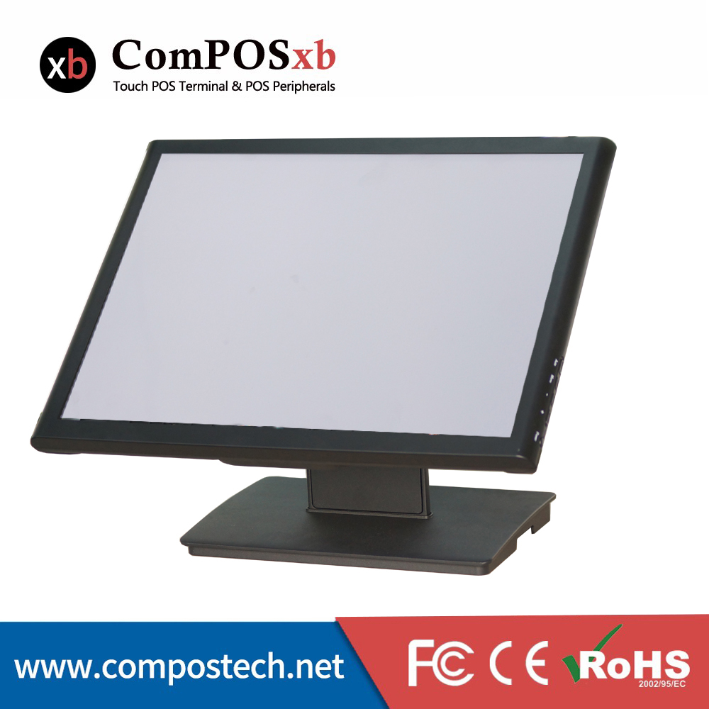 Cheap desktop computer - Free Shipping Desktop Computer Monitor Size 19 Inch Screen Monitor Touch Panel 5 Wire Touch Monitor