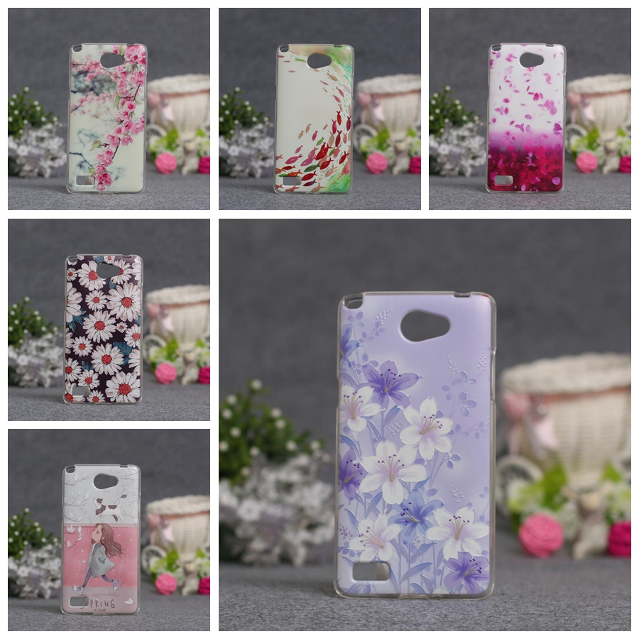 Fashion Case For <font><b>LG</b></font> Bello 2 II Cases Soft TPU Back Phone Cover For <font><b>LG</b></font> <font><b>Max</b></font> <font><b>X155</b></font> Bag Skin Cases 3D Relief Printing Flower Covers image
