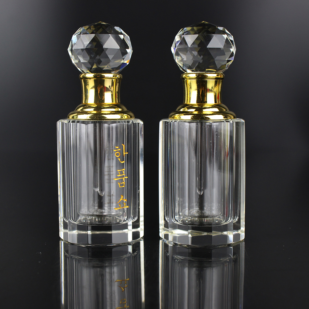 New Hot Design 8ml Glass Attar Perfume Bottle Crystal Gifts For Girls Valentines Gifts