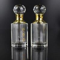 Nowy gorący projekt 8ml szkło Attar perfumy butelki kryształowe prezenty dla dziewczynek prezenty walentynkowe w Posągi i rzeźby od Dom i ogród na