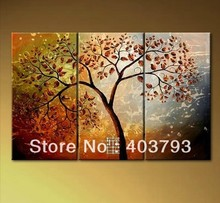 modern abstract fashion oil painting on canvas for home decoration Bodhi Tree  free shipping