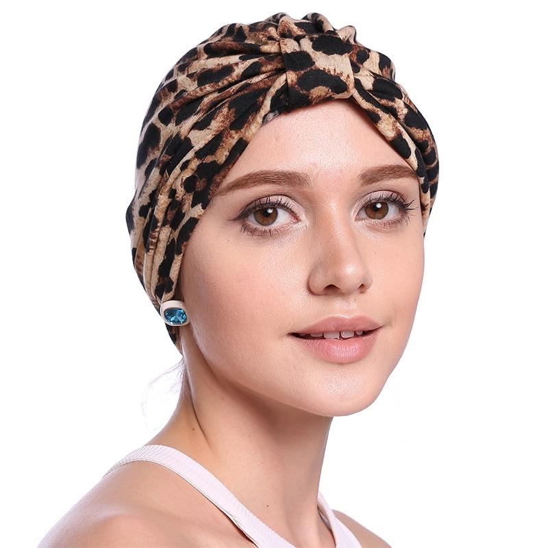 Babalet Wanita Elegant Soft bernafas Floral Leopard Chemo Cancer - Pakaian kebangsaan - Foto 5