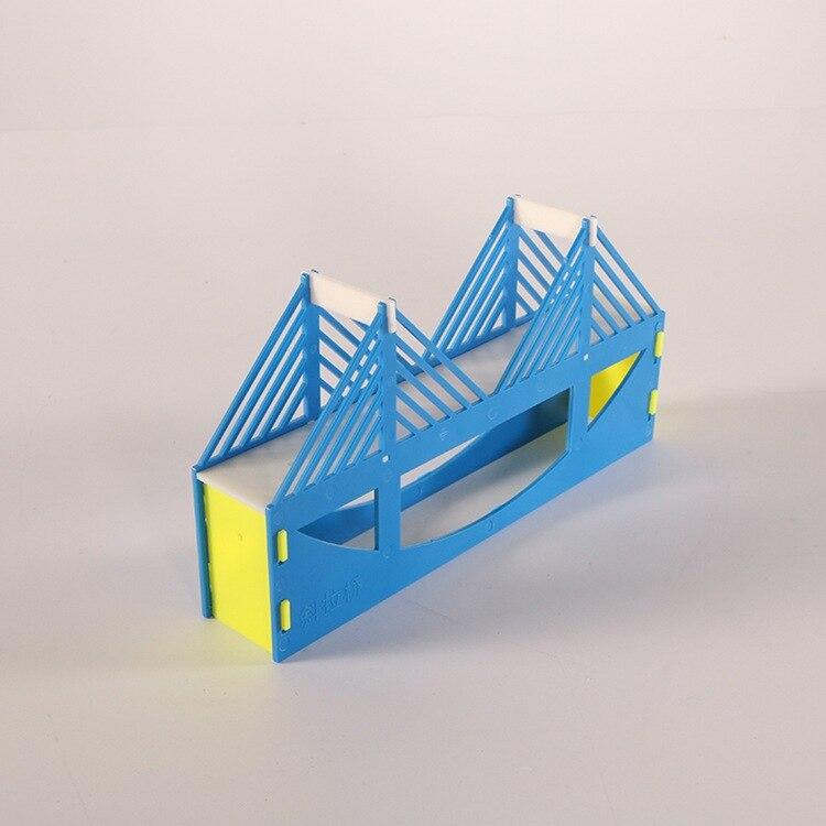 6 pçsset Modelo de Construção De Pontes