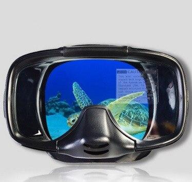 Masque de plongée étanche sous-marin de Surf professionnel masque de plongée sous-marine respirant en Silicone pêche natation Anti-buée lunettes de plongée