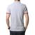 Marca Nova Camisa Dos Homens T Slim Fit V Pescoço T-shirt Dos Homens Camisa de Manga curta Casual camiseta Tops Tees Roupas Masculinas Tamanho M-5XL
