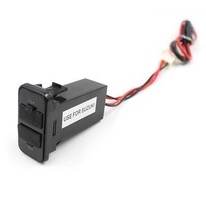 Image 3 - Adaptateur de chargeur de voiture USB double Suzuki