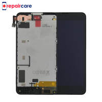 DHL For Nokia Lumia 630 LCD Display Touch Screen Digitizer Assembly With Frame Replacement Parts 4