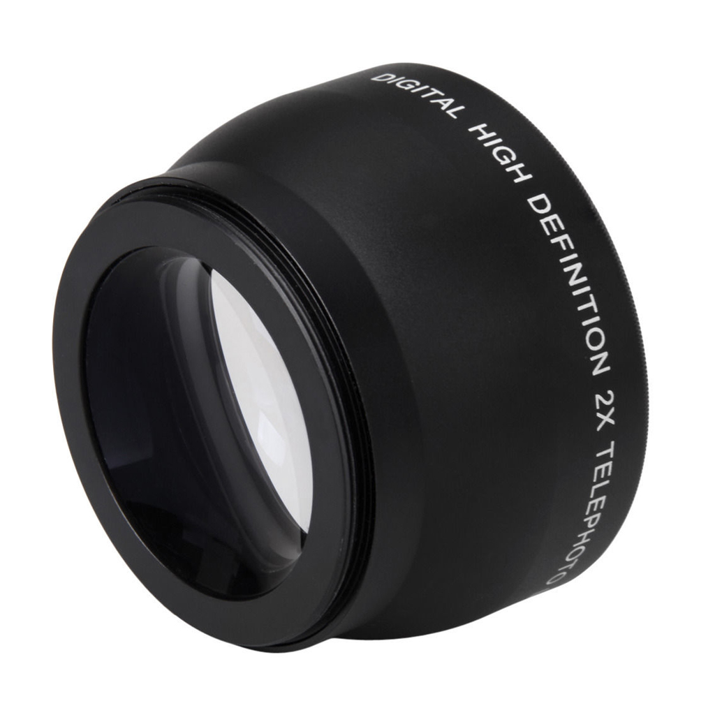 Lente de telefoto con aumento 2X de 52mm para Nikon AF-S 18-55mm - Cámara y foto - foto 2