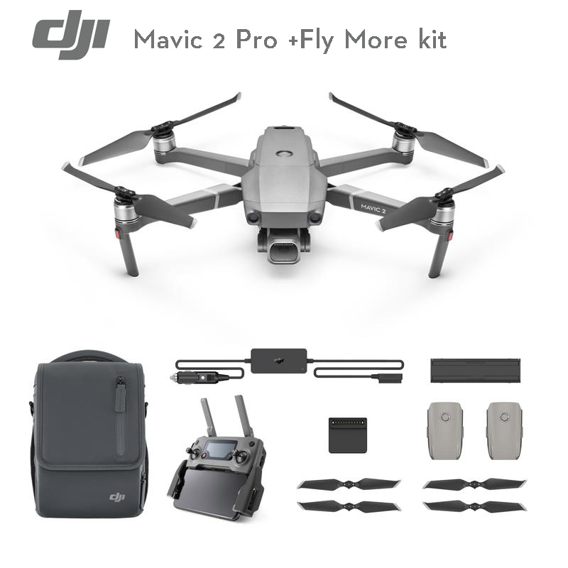 DJI DJI Mavic 2 Pro / Zoom Fly More Combo With Goggles Kit Drone RC Quadcopter