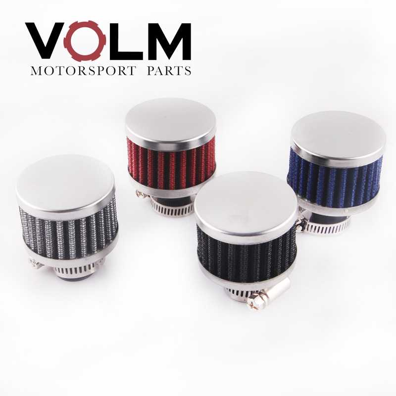 Auto Motorfiets Universele Samll Dust Filter 11 Mm Air Intake Tank Crank Case Bretather Filter AF5007