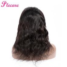 Plecare 4*4 человеческие волосы парики бразильские объемные волнистые человеческие волосы парики для черных женщин не Реми натуральный цвет