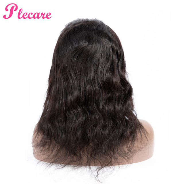 Plecare frente de encaje pelucas de cabello humano para las mujeres negras frente de encaje de pelo brasileño de la onda del cuerpo del pelo de la peluca no Remy Color Natural la extensión del pelo