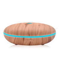 Ejoai 500ml Aroma Diffuser Aromatherapy Wood Grain Essential Oil Diffuser Ultrasonic Cool Mist Perfume Humidifier Office