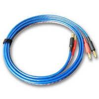 FIHI-A5 DIY Audio Linie Hifi Lautsprecher Kabel Mit 2 Banana Stecker zu 2 Banana stecker Verstärker Sauerstoff-Freies Kupfer speakon Draht Kabel