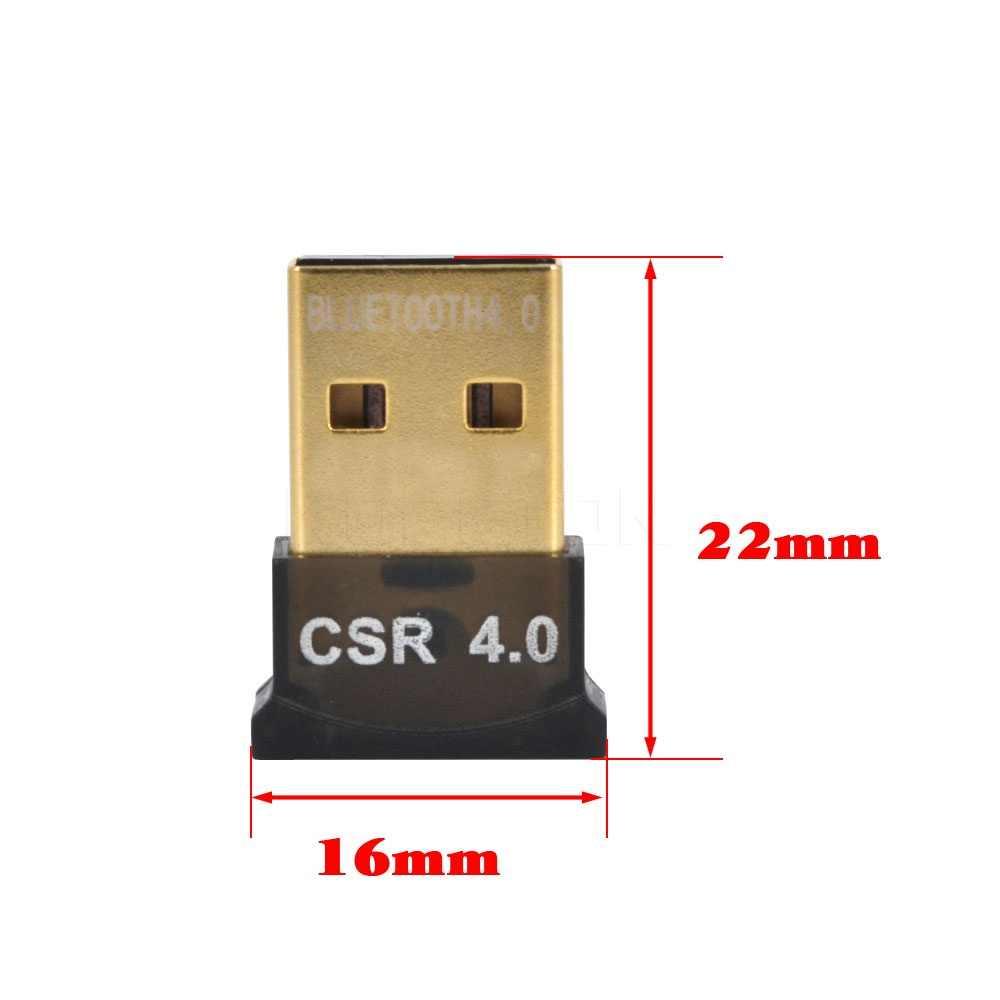 Mini adaptateur USB Bluetooth V4.0 double Mode Adaptador Bluetooth Dongle sans fil récepteur Bluetooth adaptateur d'ordinateur pour Win7/8/10
