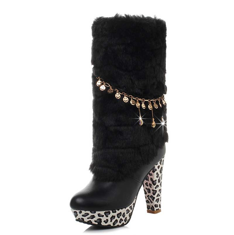 Popular Leopard Print Snow Boots-Buy Cheap Leopard Print Snow ...