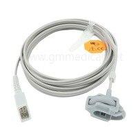 Compatible With Nellcor Neonate Silicone Wrap Spo2 Sensor DB9 Male 7pin 3M Spo2 Probe