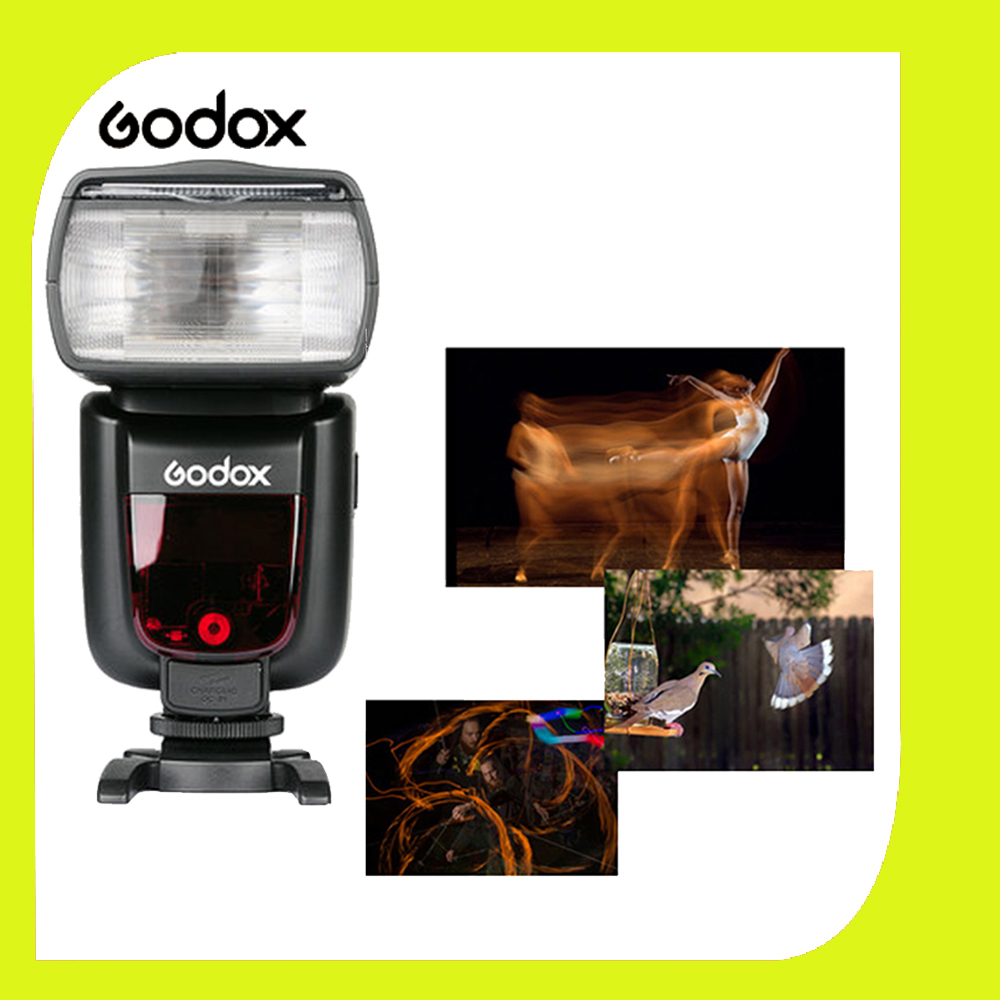 Godox TT520 Вспышка ThinkLite Электронная На камеры Speedlite Фотостудия Вспышка Света для Canon Nikon Olympus Pentax DSLR Камеры