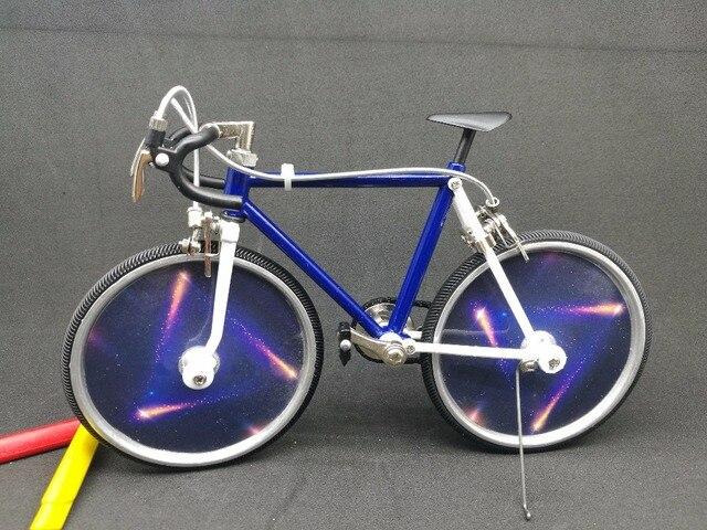assembled metal bicycle Lady simulation mini bike model diy ...