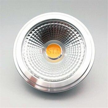 Free Shipping G53 AR111 15W equal to 80W Bulb High quality LEDAR111 lamp ES111 Led spotlight AC85-265V/DC12V - discount item  35% OFF LED Lighting