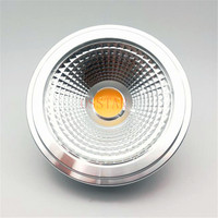Free Shipping G53 AR111 15W equal to 80W Bulb High quality LEDAR111 lamp ES111 Led spotlight AC85 265V/DC12V